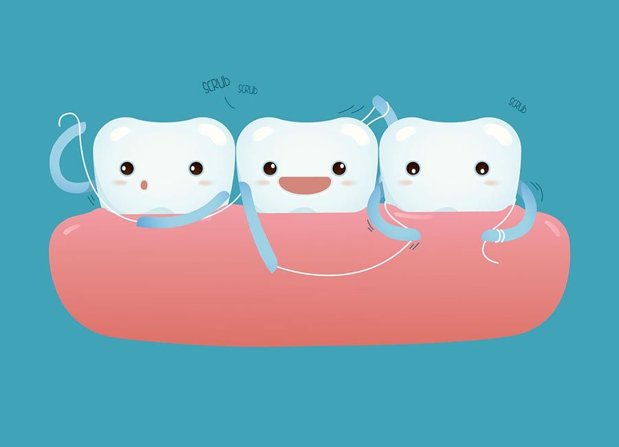 [company_name_branding] vector sobre el hilo dental